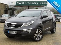 USED 2013 63 KIA SPORTAGE 1.7 CRDI 3 SAT NAV 5d 114 BHP Well Cared For Family Crossover