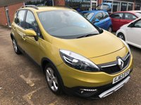 USED 2013 63 RENAULT SCENIC 1.5 XMOD DYNAMIQUE TOMTOM ENERGY DCI S/S 5d 110 BHP IN METALLIC YELLOW. APPROVED CARS ARE PLEASED TO OFFER THIS  RENAULT SCENIC 1.5 XMOD DYNAMIQUE TOMTOM ENERGY DCI S/S 5 DOOR 110 BHP IN MET YELLOW WITH BLACK CLOTH INTERIOR IN IMMACULATE CONDITION INSIDE AND OUT WITH A GREAT SPEC INCLUDING SAT NAV,REVERSE CAMERA,E/WINDOWS AND MUCH MORE WITH A FULL MAIN RENAULT DEALER SERVICE HISTORY SERVICED.
