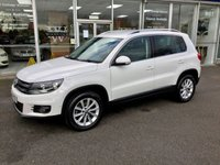 2012 VOLKSWAGEN TIGUAN 2.0 SE TDI BLUEMOTION TECHNOLOGY 4MOTION 5DR ESTATE 138 BHP £10480.00