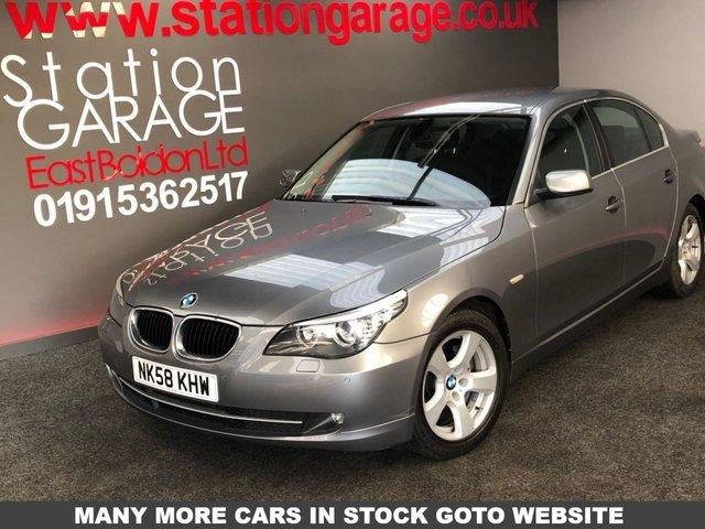 2008 58 BMW 5 SERIES 2.0 520D SE 4d 175 BHP SAT NAV