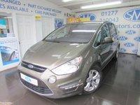 2012 FORD S-MAX 2.0 TITANIUM TDCI 5d AUTO 161 BHP £8895.00