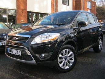 2011 FORD KUGA 2.0 TITANIUM TDCI AWD 5d AUTO 163 BHP £9995.00