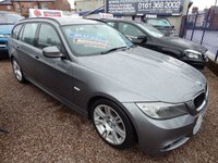USED 2011 11 BMW 3 SERIES 2.0 318D M SPORT TOURING 5d AUTO 141 BHP ALLOY WHEELS, ALCANTARA SPORTS SEATS, AIR CONDITIONING