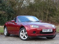 USED 2007 57 MAZDA MX-5 1.8 I ROADSTER 2d 125 BHP FANTASTIC CONDITION SPORTS CONVERTIBLE
