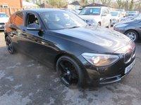 2012 BMW 1 SERIES 1.6 118I SPORT TURBO 5d 168 BHP LOOKS GREAT IN BLACK £8999.00