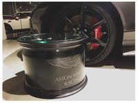 USED 2018 ASTON MARTIN V8 RACING ALLOY COFFEE TABLE