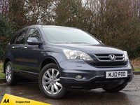 USED 2012 12 HONDA CR-V 2.2 I-DTEC EX 5d AUTO 148 BHP FULL HEATED LEATHER INTERIOR, FULL SCREEN SATELLITE NAVIGATION