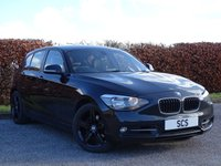 USED 2012 12 BMW 1 SERIES 2.0 120D SPORT 5d * DIESEL * FULL LEATHER INTERIOR *