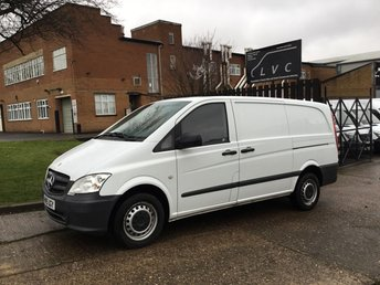 2015 MERCEDES-BENZ VITO 2.1 113CDI LONG 136BHP FACELIFT. AIRCON. 1 OWNER. FMBSH £8595.00