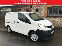 USED 2016 65 NISSAN NV200 1.5 DCI ACENTA 1d 90 BHP One Owner, Two Side Loading Doors, Finance Arranged.