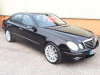 2009 MERCEDES-BENZ E CLASS 3.0 E320 CDI SPORT 4d AUTO 222 BHP £6295.00