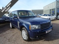 USED 2011 11 LAND ROVER RANGE ROVER 4.4 TDV8 VOGUE 5d AUTO 313 BHP Service book shows 5 dealership service stamps at 13,104 / 21,274 / 29,062 / 43,221 & 63,310 miles. It has a manual pack, current MOT, x2 keys (spare not tested) and the V5 doc shows 2 previous keepers with the current owner being a company own.