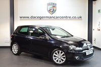 USED 2009 09 VOLKSWAGEN GOLF 2.0 GT TDI 3DR 138 BHP + EXCELLENT SERVICE HISTORY + SPORT SEATS + AUXILIARY PORT + HEATED MIRRORS + AIR CONDITIONING + 17 INCH ALLOY WHEELS +