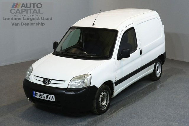 2005 55 PEUGEOT PARTNER 2.0 LX 600 HDI 4d 89 BHP SWB CD PLAYER AUX USB NO VAT 2 OWNER FROM NEW