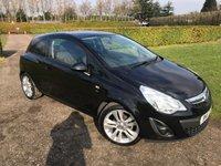 2011 VAUXHALL CORSA 1.4 SXI AC 3d 98 BHP Full Vauxhall History, MOT 02/19, Recent Service £4695.00