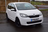 USED 2014 14 SKODA CITIGO 1.0 SE 12V 5d 59 BHP ONE LOCAL LADY OWNER FROM NEW