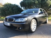 USED 2007 07 BMW 7 SERIES 3.0 730D SE 4d AUTO 228 BHP GREAT LUXURY 7 SERIES WITH ONLY 83000 MILES AND FULL SERVICE HISTORY IN BLACK WITH FULL BLACK LEATHER