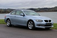 2011 BMW 3 SERIES  320D SE COUPE  181 BHP £8990.00