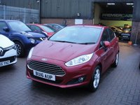 USED 2016 16 FORD FIESTA 1.2 ZETEC 5d 81 BHP ANY PART EXCHANGE WELCOME, COUNTRY WIDE DELIVERY ARRANGED, HUGE SPEC