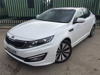 2013 KIA OPTIMA 1.7 3 CRDI 4d 134 BHP SAT NAV PAN ROOF LEATHER 18 ALLOYS £8990.00