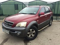 2004 KIA SORENTO 2.5 XS CRDI 5d 139 BHP LEATHER CRUISE SIDE STEPS MOT 10/18 £1390.00