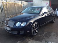 2012 BENTLEY CONTINENTAL FLYING SPUR 6.0 FLYING SPUR 4d AUTO 552 BHP £49950.00