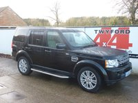 2010 LAND ROVER DISCOVERY 3.0 4 SDV6 HSE 5d AUTO 245 BHP £19995.00