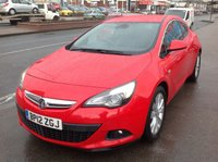 1970 VAUXHALL ASTRA GTC Gtc, 1.4 turbo, 3 door,  £5995.00