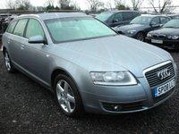 2008 AUDI A6 2.0 TDI SE TDV 5d 140 BHP £SOLD