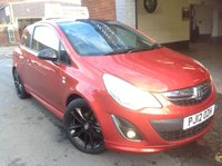 2012 VAUXHALL CORSA 1.2 LIMITED EDITION  £4295.00