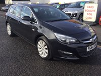 USED 2014 64 VAUXHALL ASTRA 1.6 TECH LINE CDTI ECOFLEX S/S 5d 108 BHP PRICE INCLUDES A 6 MONTH AA WARRANTY DEALER CARE EXTENDED GUARANTEE, 1 YEARS MOT AND A OIL & FILTERS SERVICE. 6 MONTHS FREE BREAKDOWN COVER.