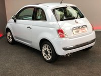 USED 2009 58 FIAT 500 1.2 LOUNGE 3d 69 BHP BLUETOOTH AND SUNROOF