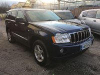 USED 2005 05 JEEP GRAND CHEROKEE 3.0 V6 CRD LIMITED 5d AUTO 215 BHP