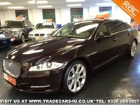 USED 2013 13 JAGUAR XJ 3.0 LWB 3.0D DIESEL PREMIUM LUXURY  COMPETITIVE FINANCE - NATIONWIDE DELIVERY - PART EX WELCOME - HPI CLEAR - L@@K