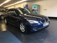 USED 2007 07 BMW 5 SERIES 2.0 520D SE 4d 161 BHP HUGE SPEC, OVER £6,000 WORTH OF FACTORY EXTRAS
