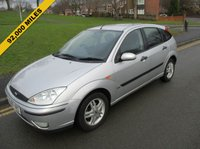 USED 2005 05 FORD FOCUS 1.6 ZETEC 5d 99 BHP 92,000 EXCELLENT CONDITION - SERVICE HISTORY - 3 OWNERS FROM NEW