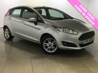 USED 2015 15 FORD FIESTA 1.5 ZETEC TDCI 5d 74 BHP One Owner/Bluetooth