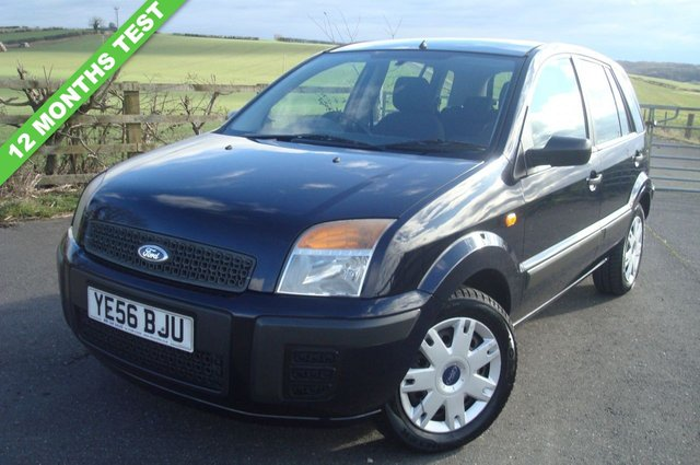 2006 56 FORD FUSION 1.4 STYLE 5d 68 BHP 12 MONTHS TEST JUST SERVICED