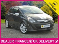 USED 2014 14 VAUXHALL CORSA 1.4 SRI AC 3DR AIR CONDITIONING CRUISE 17 INCH WHITE ALLOYS