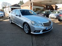 USED 2010 60 MERCEDES-BENZ E CLASS 2.1 E250 CDI BLUEEFFICIENCY SPORT 4d AUTO 204 BHP FULL MERC HISTORY,TWO KEYS,HEATED SEATS,BLUETOOTH