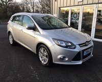 USED 2014 14 FORD FOCUS 1.6 TDCI TITANIUM NAVIGATOR 115 BHP THIS VEHICLE IS AT SITE 1 - TO VIEW CALL US ON 01903 892224