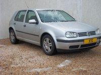 2003 VOLKSWAGEN GOLF 1.4 E 5d 74 BHP £499.00