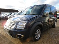 2013 FORD TRANSIT CONNECT 1.8 T200 LIMITED SWB 110 BHP SPORT STYLING 40689 MILES NO VAT £8495.00