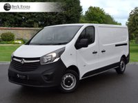 USED 2016 66 VAUXHALL VIVARO 1.6 2900 L2H1 CDTI P/V 1d 114 BHP LONG WHEEL BASE