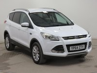 USED 2015 64 FORD KUGA 2.0 TITANIUM TDCI 5d AUTO 177 BHP THIS VEHICLE IS AT SITE 2 - TO VIEW CALL US ON 01903 323333