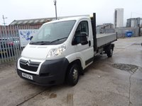USED 2013 13 CITROEN RELAY 2.2 HDI 35 L3 DROPSIDE 1d 129 BHP
