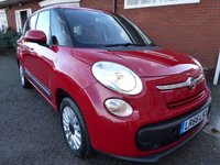 USED 2016 66 FIAT 500L MPW 1.2 MULTIJET POP STAR DUALOGIC 5d AUTO 95 BHP 7 SEATER What A Rare Car, 1.3 Automatic, Diesel, 7 Seats And Super Low Mileage