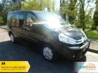 USED 2013 63 CITROEN DISPATCH 2.0 COMBI L1H1 HDI SX 5d 126 BHP Fantastic One Lady Owned Low Mileage Nine Seat Dispatch Minibus with Air Conditioning, Velour Seat Trim, Sliding Rear Doors and Citroen Service History
