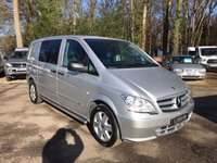 USED 2013 63 MERCEDES-BENZ VITO 2.1 116 CDI DUALINER SWB COMPACT Air Conditioning, Bluetooth, Cruise Control