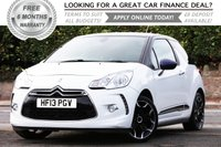 2013 CITROEN DS3 1.6 DSTYLE PLUS 3d 120 BHP £6381.00